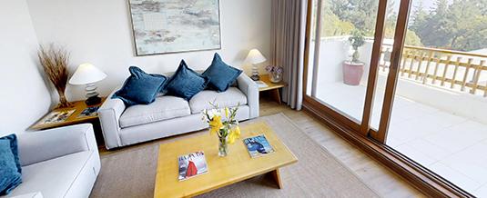Cómodos espacios en nuestra Suite Familiar
