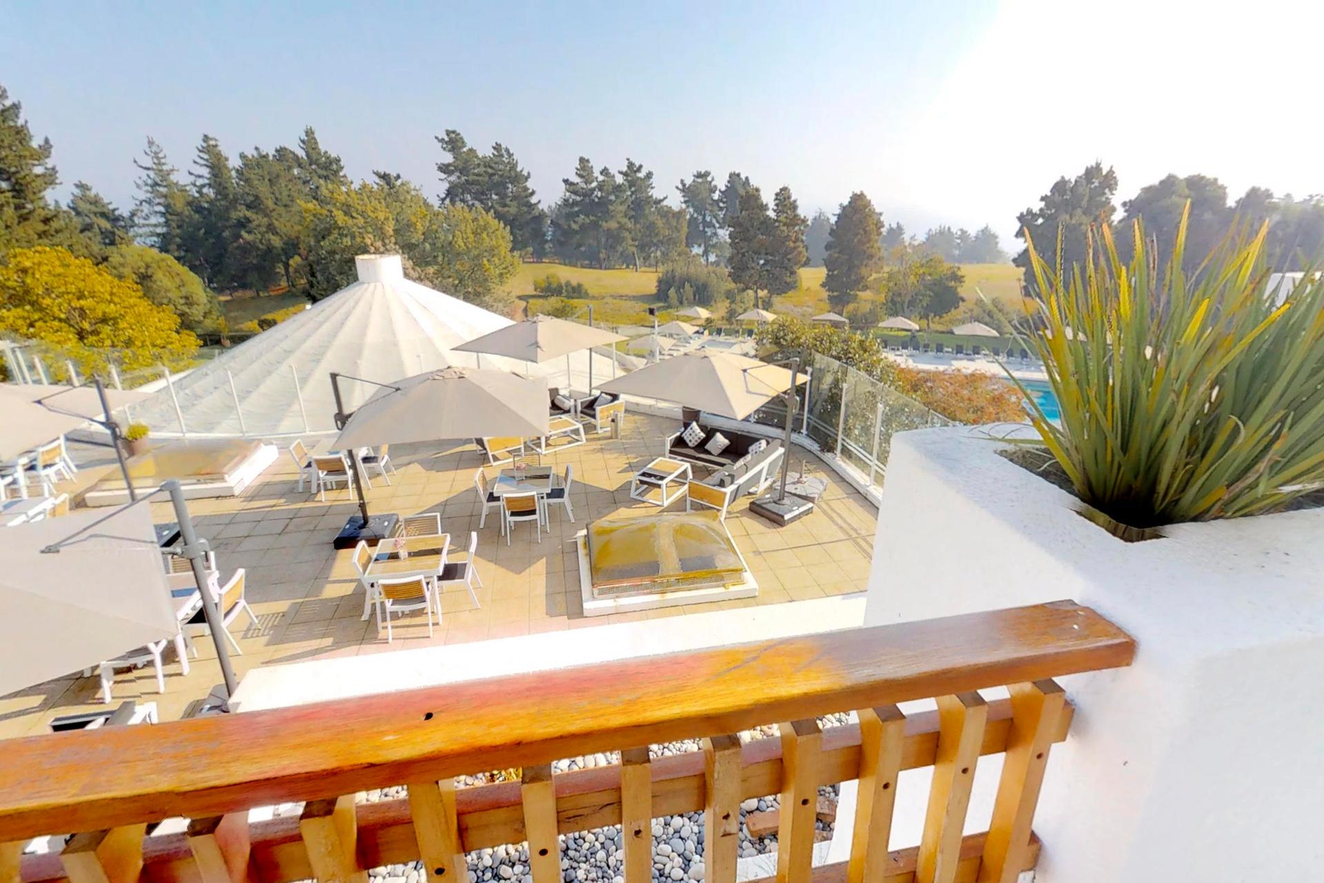 Hotel Marbella Resort Chile vista desde terraza