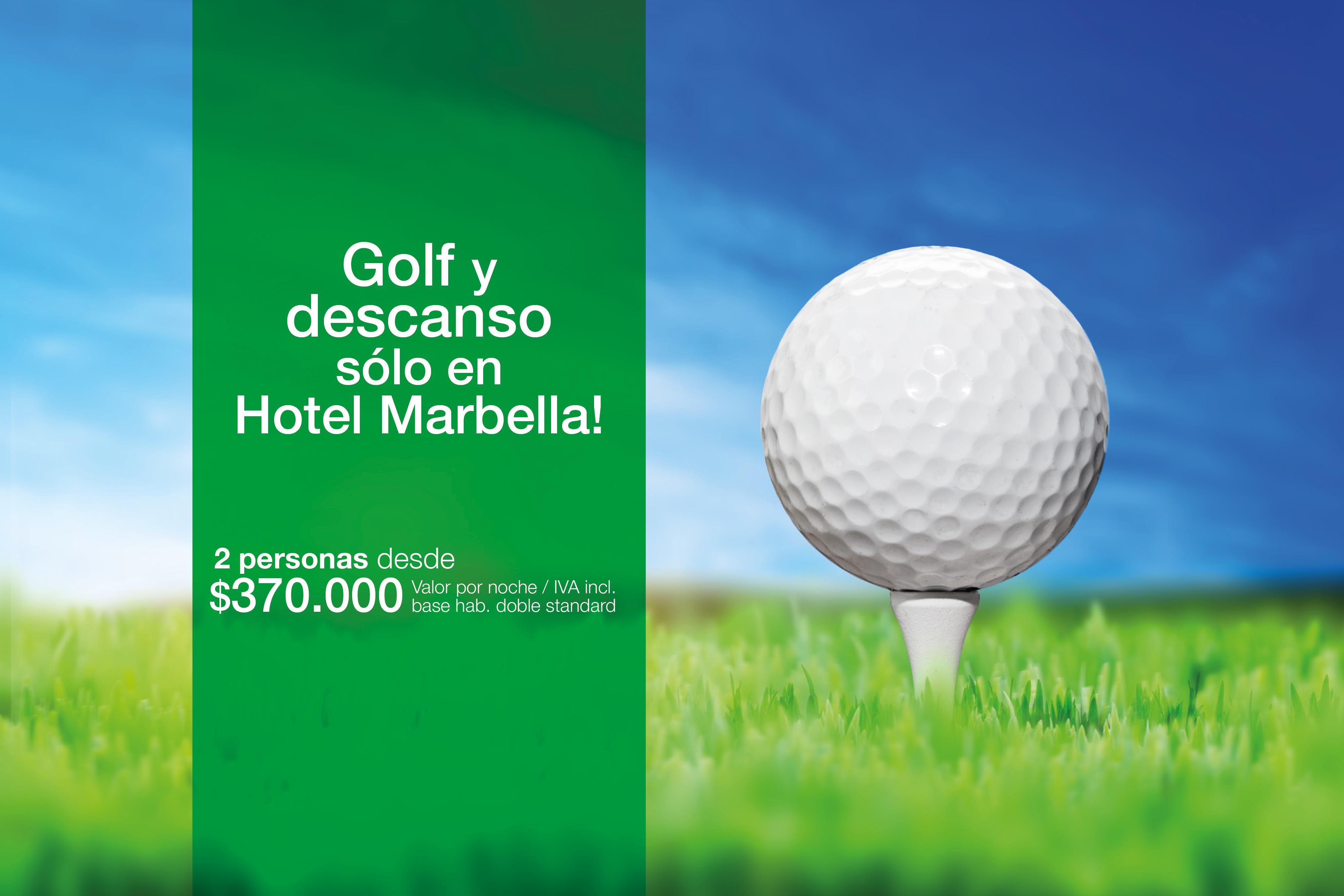 Juega golf y descansa en Marbella