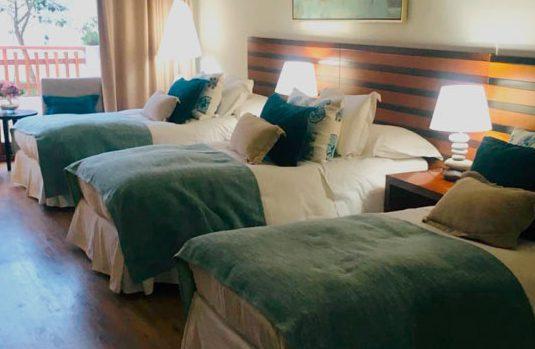 Cómo habitación con 3 camas
