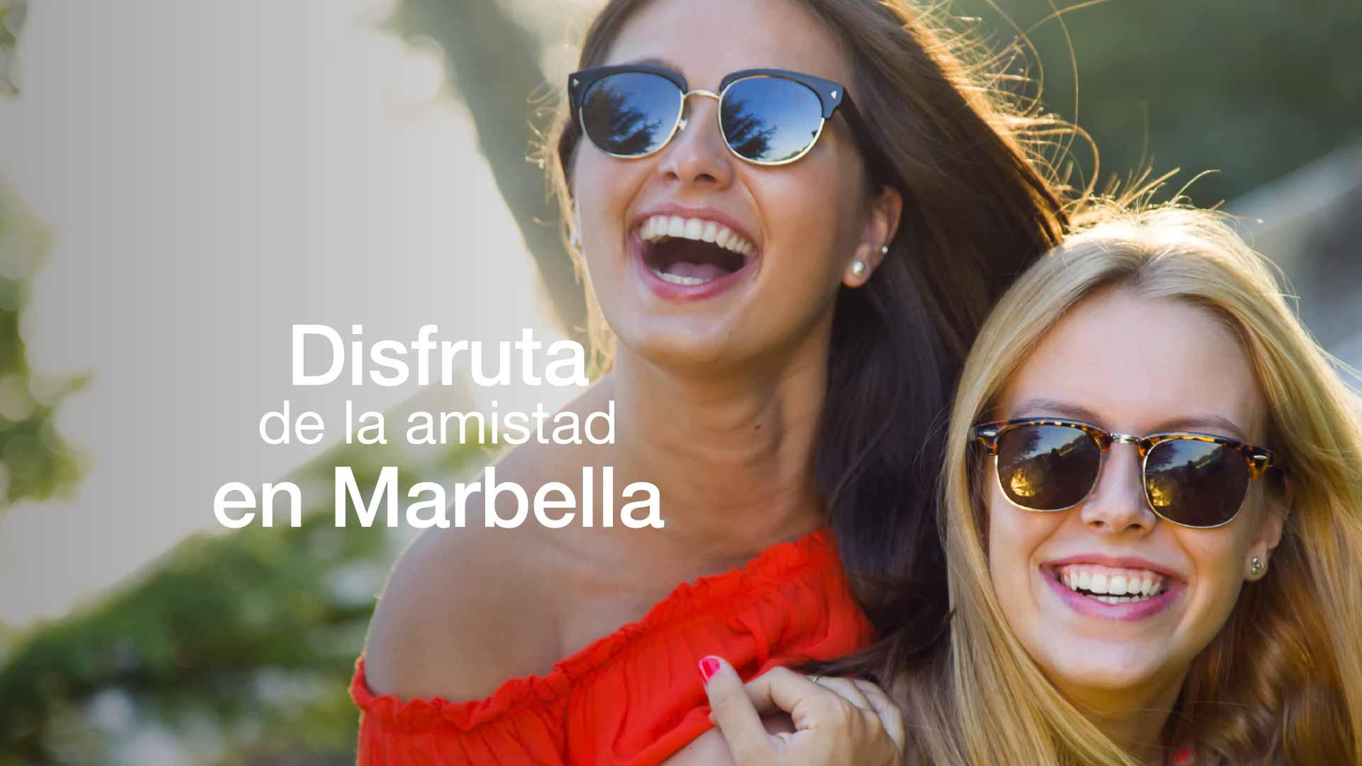 Marbella con amigas